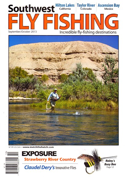 Southwest Fly Fishing Cover - 9/1/2013