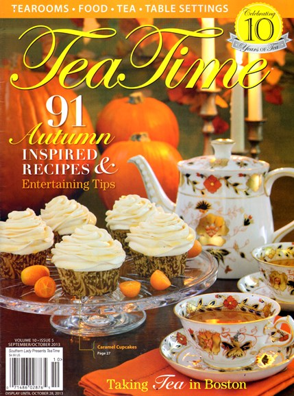Tea Time Cover - 9/1/2013