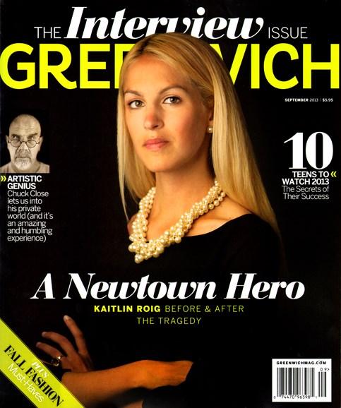 Greenwich Cover - 9/1/2013