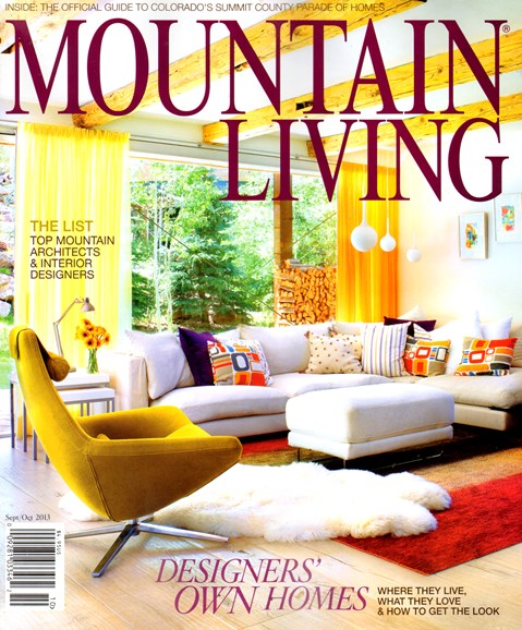 Mountain Living Cover - 9/1/2013