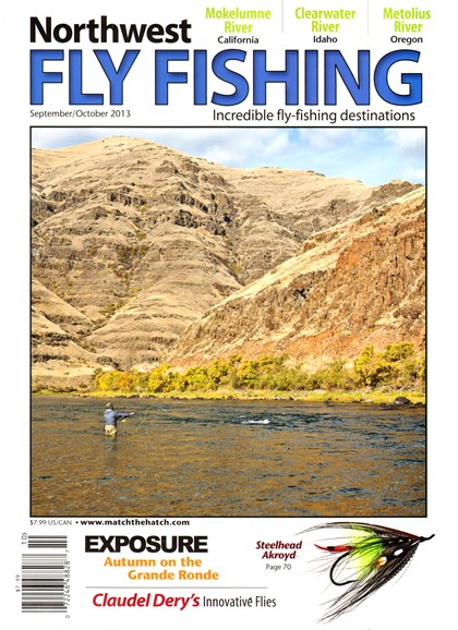 Northwest Fly Fishing Cover - 9/1/2013