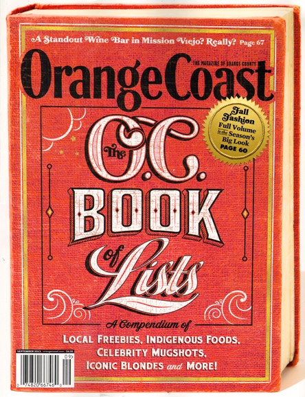 Orange Coast Cover - 9/1/2013