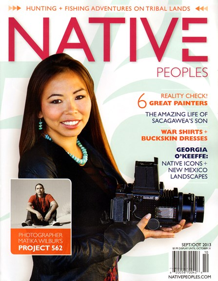 Native Peoples Cover - 9/1/2013