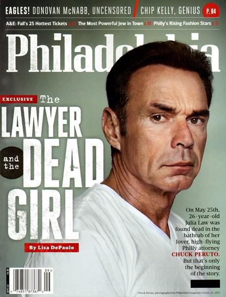 Philadelphia Magazine Cover - 9/1/2013