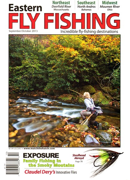Eastern Fly Fishing Cover - 9/1/2013