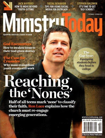 Ministry Today Cover - 9/1/2013