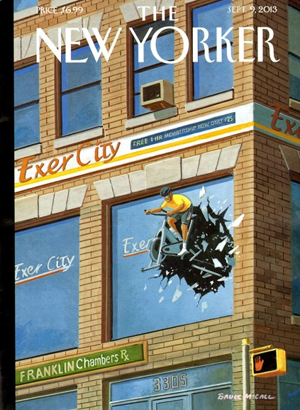 The New Yorker Cover - 9/9/2013