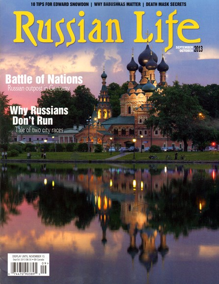 Russian Life Cover - 9/1/2013