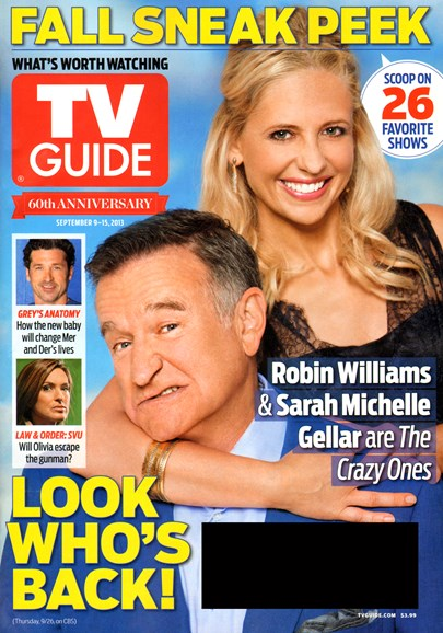 TV Guide Cover - 9/9/2013