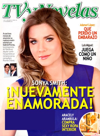 Tv Y Novelas Cover - 9/1/2013