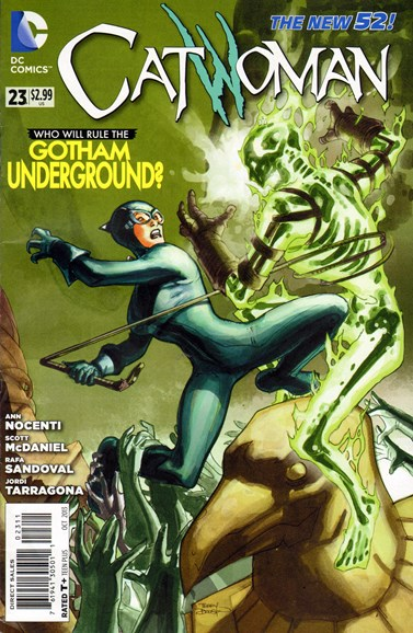 Catwoman Cover - 10/1/2013