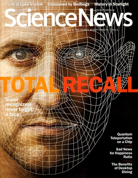Science News Cover - 9/7/2013