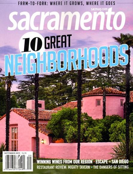 Sacramento Cover - 9/1/2013