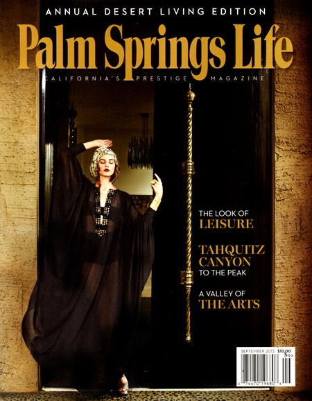 Palm Springs Life Cover - 9/1/2013