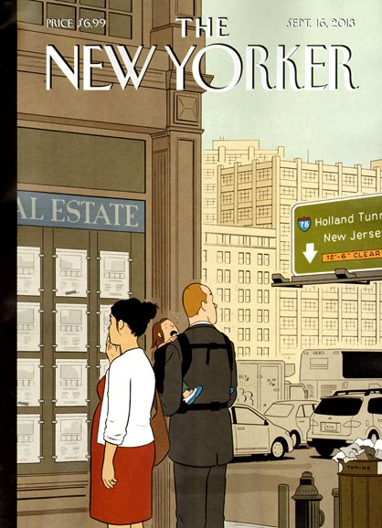 The New Yorker Cover - 9/16/2013