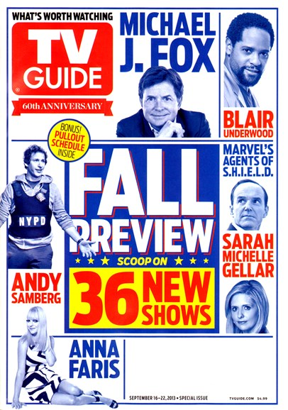 TV Guide Cover - 9/16/2013