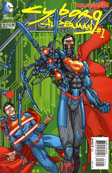 Action Comics Cover - 11/1/2013