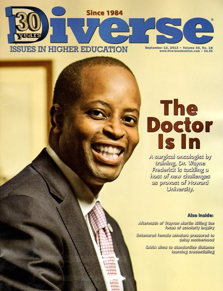 Diverse: Issues In Higher Education Cover - 9/12/2013