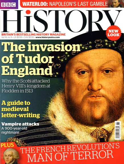 BBC History Cover - 9/1/2013
