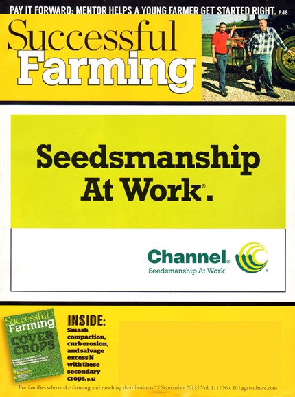 Successful Farming Cover - 9/1/2013
