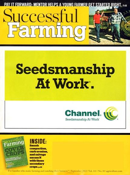 Successful Farming Cover - 9/1/2013