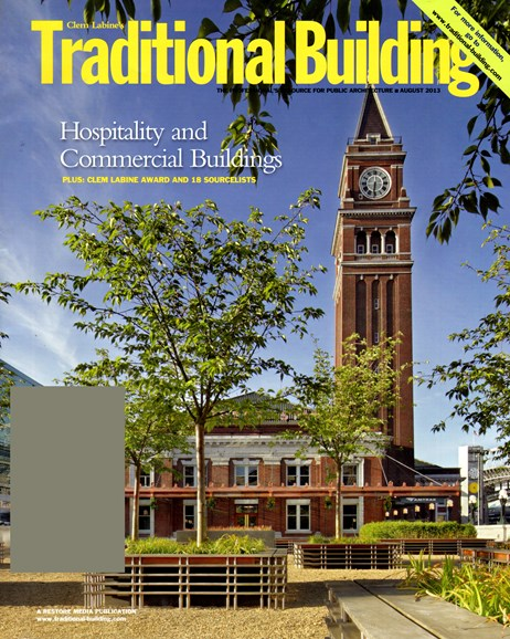 Traditional Building Cover - 8/1/2013