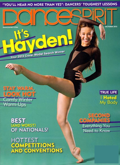 Dance Spirit Cover - 10/1/2013