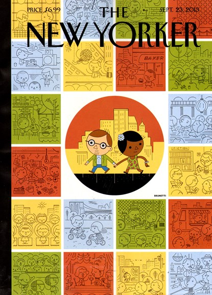 The New Yorker Cover - 9/23/2013