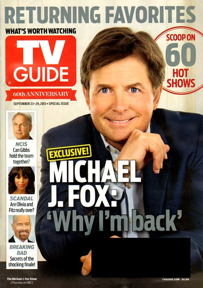 TV Guide Cover - 9/23/2013