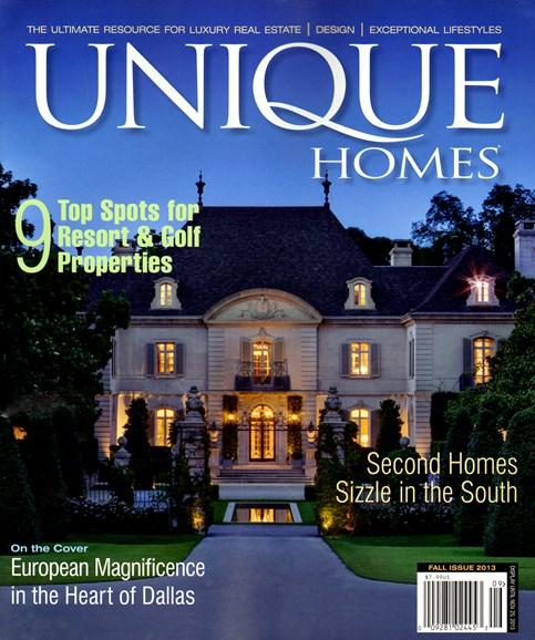 Unique Homes Cover - 9/1/2013