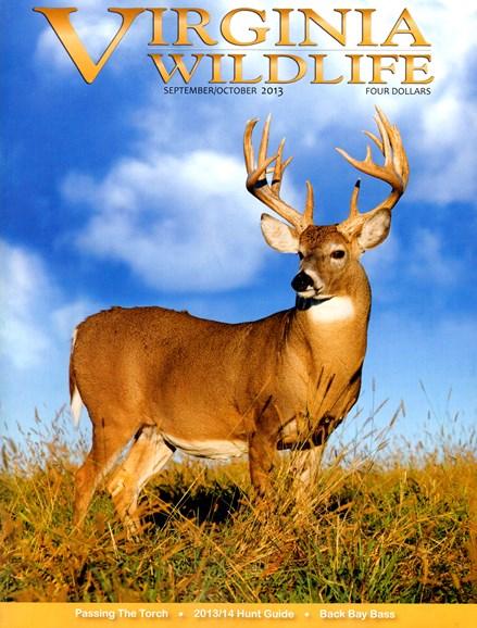 Virginia Wildlife Cover - 9/1/2013