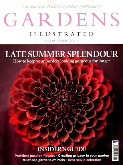 Gardens Illustrated Cover - 9/1/2013