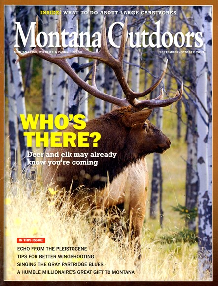 Montana Outdoors Cover - 9/1/2013