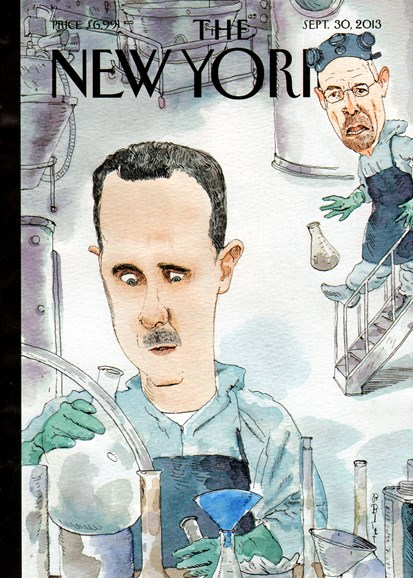 The New Yorker Cover - 9/30/2013