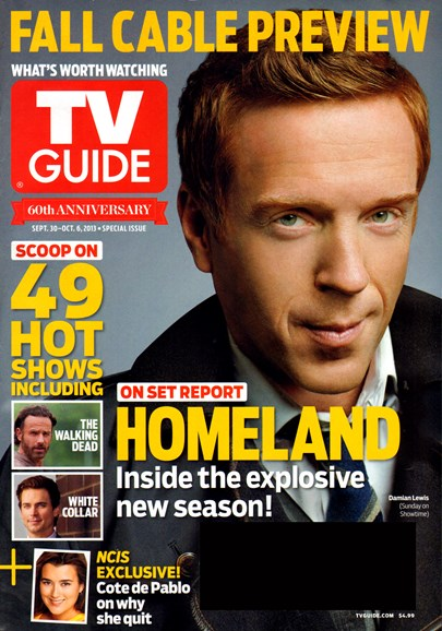 TV Guide Cover - 9/30/2013