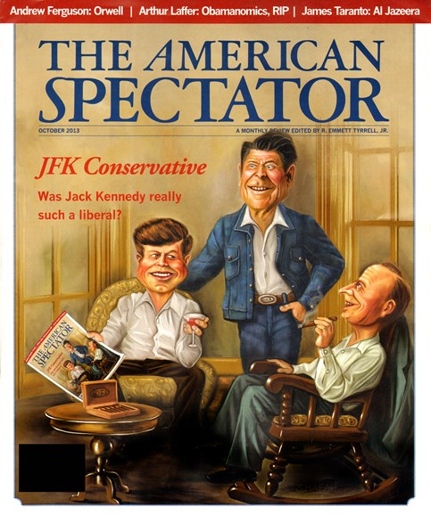 The American Spectator Cover - 10/1/2013