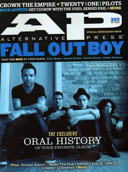 Alternative Press Cover - 10/1/2013