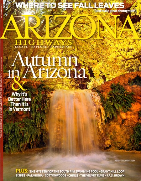 Arizona Highways Cover - 10/1/2013