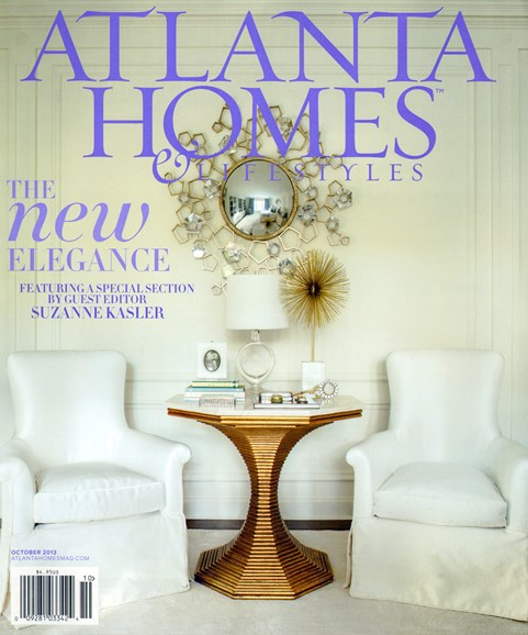 Atlanta Homes & Lifestyles Cover - 10/1/2013