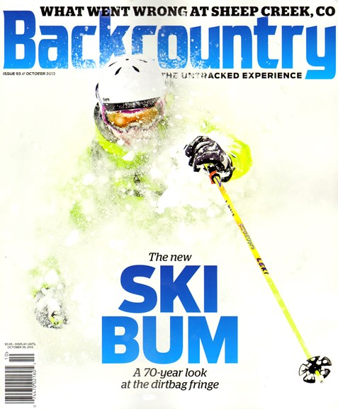Backcountry Cover - 10/1/2013