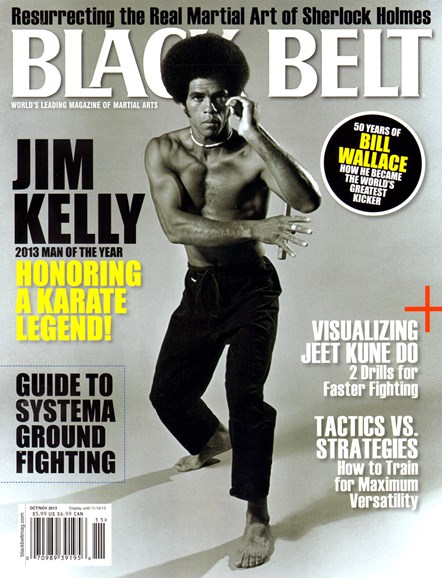 Black Belt Magazine Cover - 10/1/2013