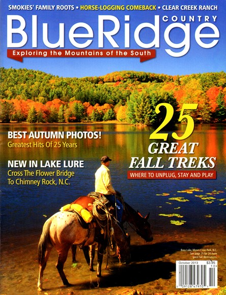 Blue Ridge Country Cover - 10/1/2013