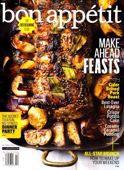 Bon Appétit Cover - 10/1/2013