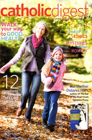 Catholic Digest Cover - 10/1/2013