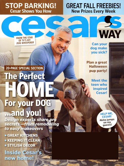 Cesar's Way Cover - 10/1/2013