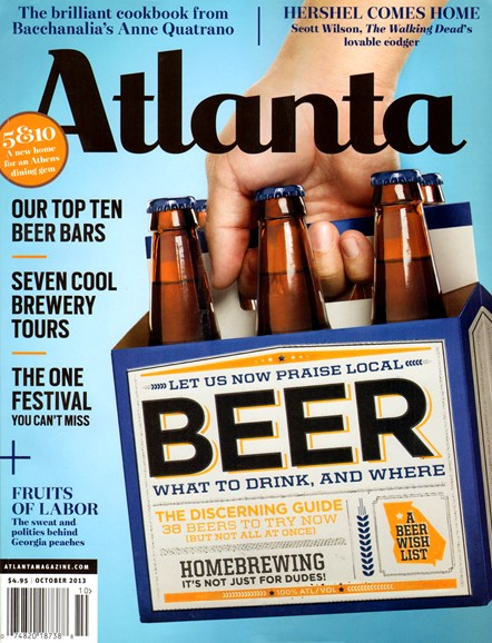 Atlanta Magazine Cover - 10/1/2013