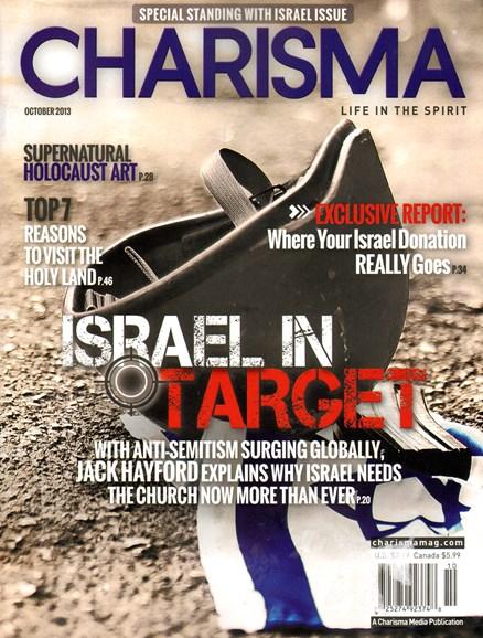 Charisma Cover - 10/1/2013