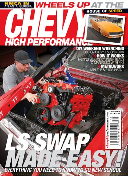 Chevy High Performance Cover - 10/1/2013
