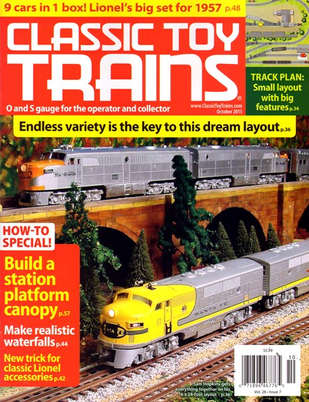 Classic Toy Trains Cover - 10/1/2013