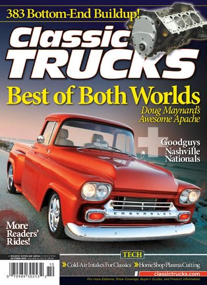 Classic Trucks Cover - 10/1/2013